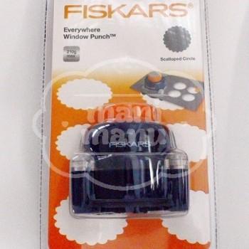 Perforadora de ventana Fiskars Círculo Ondas