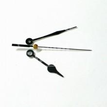 Juego de Agujas Lágrima color negro 73 mm con Segundero