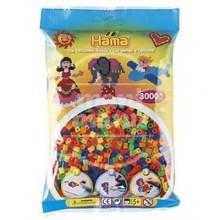 HAMA MIDI Mix 51 (6 colores NEON) 3000 piezas