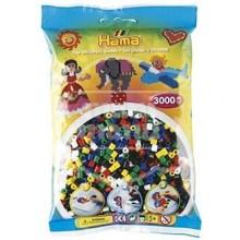 HAMA MIDI Mix 66 (6 colores) 3000 piezas