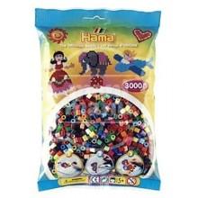 HAMA MIDI Mix 68 (48 colores) 3000 piezas