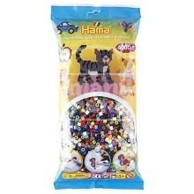 HAMA MIDI Mix 67 (22 colores) 6000 piezas