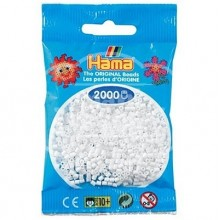 HAMA MINI 01 Blanco 2000 piezas