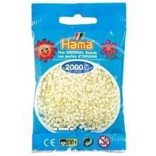 HAMA MINI 02 Crema 2000 piezas