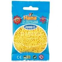 HAMA MINI 03 Amarillo 2000 piezas