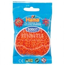 HAMA MINI 04 Naranja 2000 piezas