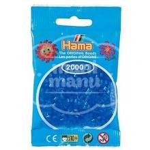 HAMA MINI Azul Translúcido 2000 piezas