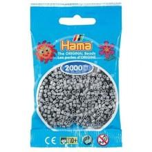 HAMA MINI Gris 2000 piezas