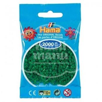 HAMA MINI Verde 2000 piezas