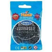 HAMA MINI 23 Negro Translúcido 2000 piezas