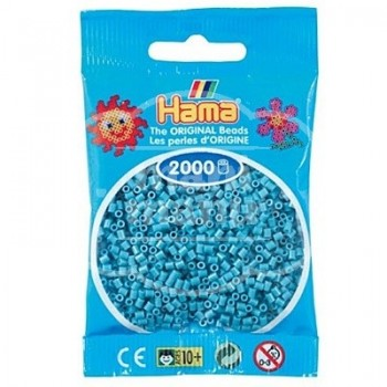 HAMA MINI 31 Turquesa 2000 piezas