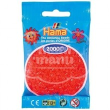 HAMA MINI 35 Rojo Neón 2000 piezas
