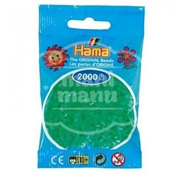 HAMA MINI 37 Verde Neón 2000 piezas
