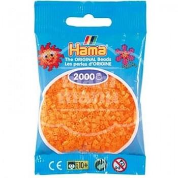 HAMA MINI 38 Naranja Neón 2000 piezas