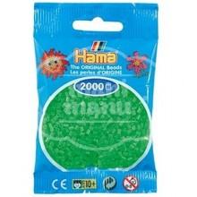 HAMA MINI 42 Verde Fluorescente 2000 piezas