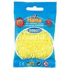 HAMA MINI 43 Amarillo Pastel 2000 piezas
