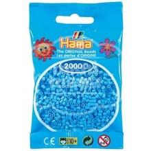 HAMA MINI 46 Azul pastel 2000 piezas