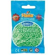 HAMA MINI 47 Verde pastel 2000 piezas