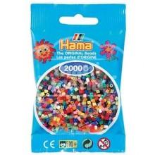 HAMA MINI Mix 2000 piezas (48 colores)