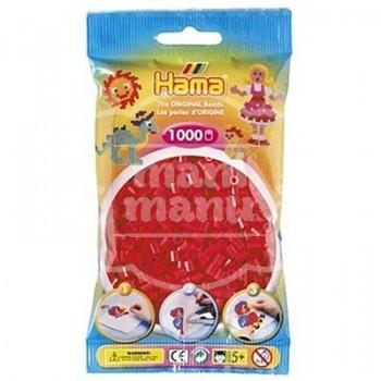 HAMA MIDI 05 Rojo 1000 piezas