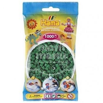 HAMA MIDI 10 Verde 1000 piezas