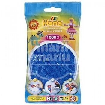 HAMA MIDI 15 Azul Translúcido 1000 piezas
