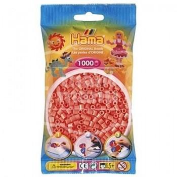 HAMA MIDI 44 Rojo Pastel /  Salmón 1000 piezas