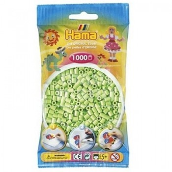 HAMA MIDI 47 Verde Pastel 1000 piezas