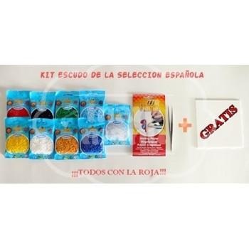 Kit Hama Beads mini TODOS CON LA ROJA