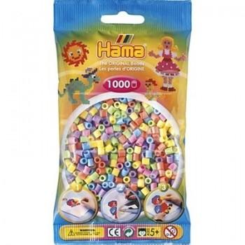 HAMA MIDI Mix 50 (6 colores pastel) 1000 piezas