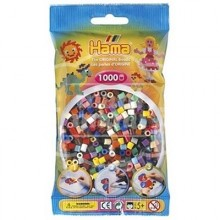 HAMA MIDI Mix 67 (22 colores) 1000 piezas