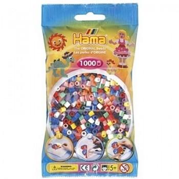 HAMA MIDI Mix 00 (10 colores) 1000 piezas