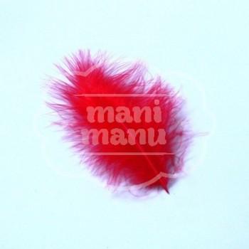 Pluma de Marabú Roja