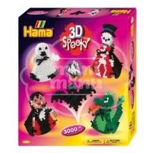 "Caja regalo 3D 3000 beads midi ""Escalofriante"""