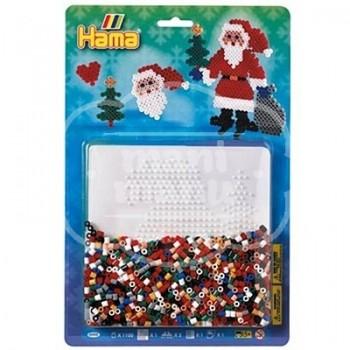 Blister 1100 beads Santa Claus