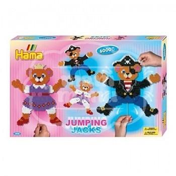 "Caja regalo 6000 beads midi ""Marionetas con Movimiento"""