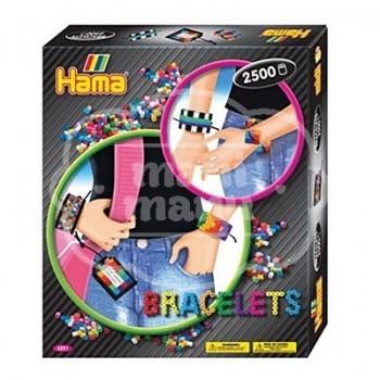"""Caja regalo 2500 beads midi """"Brazaletes"""""""