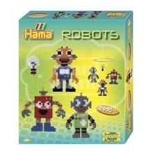 "Caja regalo 2500 beads midi ""Robots"""