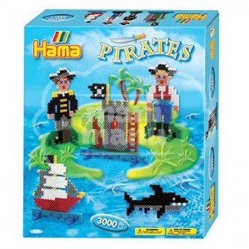 "Caja regalo 3000 beads midi ""Piratas"""