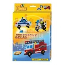 "Caja regalo 2000 beads midi ""Patrulla de Emergencias"" (Emergency squad)"