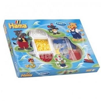 "Caja regalo 2400 beads midi ""Set organizador Hipopótamo"""