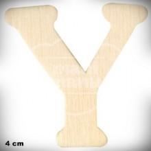 Letra Y en Madera de 4 cm