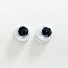 Ojos Móviles Adhesivos de 8 mm.