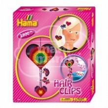 """Caja regalo 2500 beads midi """"Clips para el pelo"""""""