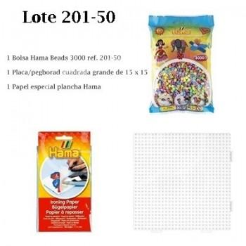 Hama beads lote ahorro 201-50
