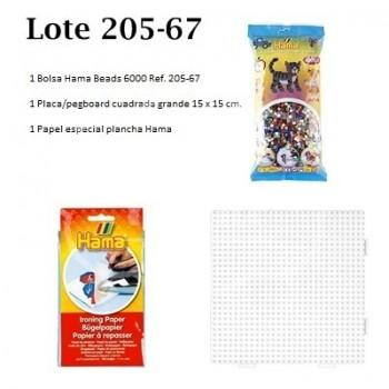 Hama beads lote ahorro 205-67