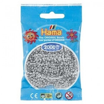 HAMA MINI 70 Gris Claro 2000 piezas