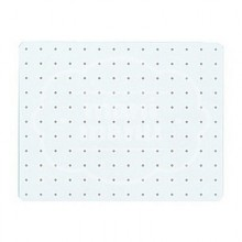 Placa base / Pinboard Rectangular  para Hama Maxi Stick