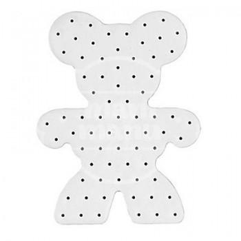 Placa base / Pinboard Osito para Hama Maxi Stick