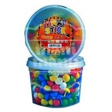 Hama Maxi Stick Mix 7 colores Bote de 250 clavijas